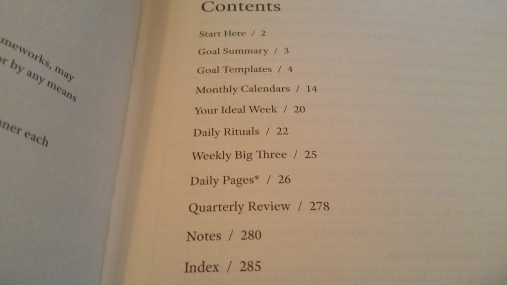 Full Focus Planner Index